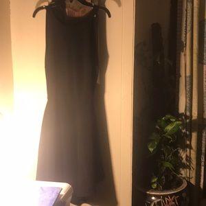 Black strapless